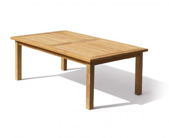 Balmoral Teak Rectangular Outdoor Dining Table - 2m