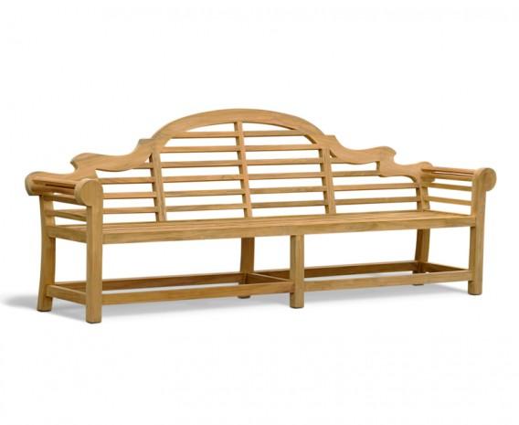 Extra Large Lutyens Teak Bench 2.70m