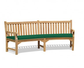 Connaught Curved Bench Cushion - Garden Cushions