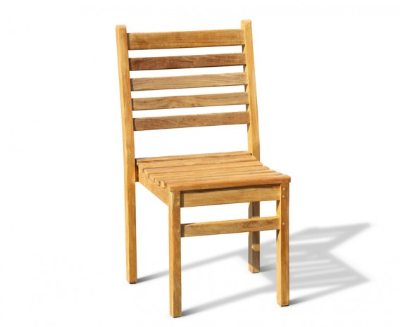 Yale Teak Stacking Patio Chair