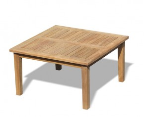Hilgrove Teak Square Coffee Table - 90cm