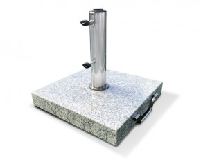 25kg Granite Parasol Base with wheels