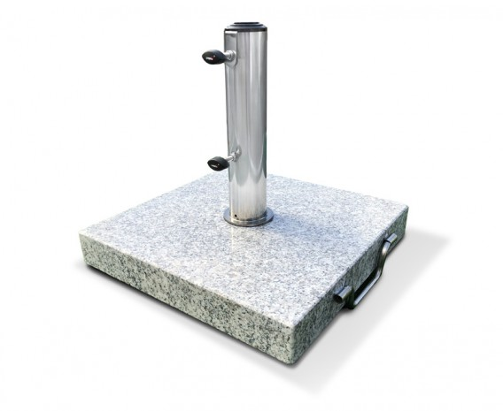Granite Parasol Base with wheels