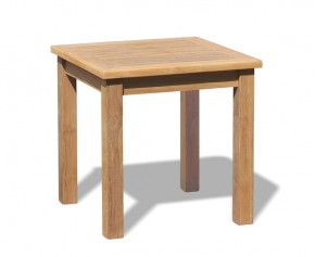 Hilgrove Teak Tea Table, Outdoor Side Table - 60cm