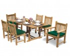 Hilgrove Table 1.8m, Windsor Side Chairs & Taverners Armchairs