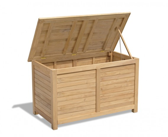 Extra Large Teak Garden Storage Box
