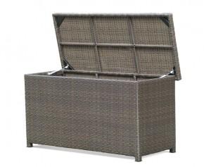 Rattan Garden Storage Box with Lid