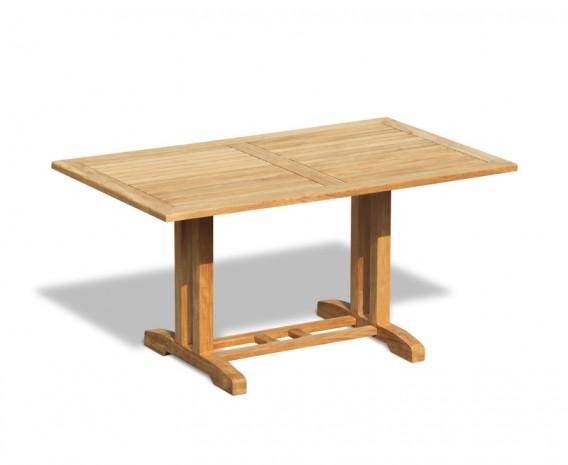Belgrave Rectangular Teak Outdoor Table – 1.5m