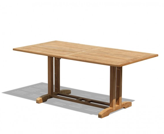 Belgrave Rectangular Teak Outdoor Table – 1.8m