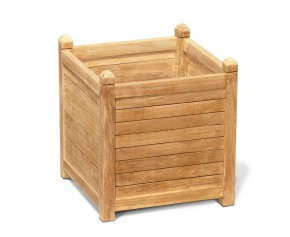 Zen Extra Large Garden Planter, Teak Wood