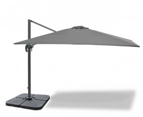 Rectangular Cantilever Parasol with cover, 3 x 4m – Umbra®