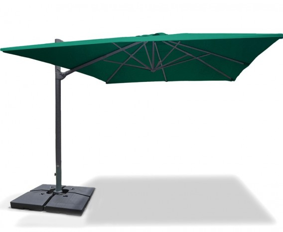 Rectangular Cantilever Parasol with cover, 3 x 4m – Umbra®