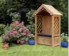 Teak Garden Arbour Bench