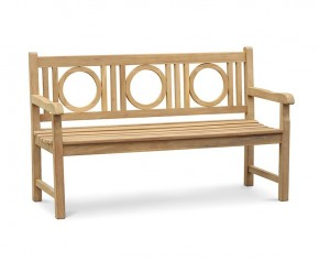 Albemarle Decorative Outdoor Bench - 1.5m