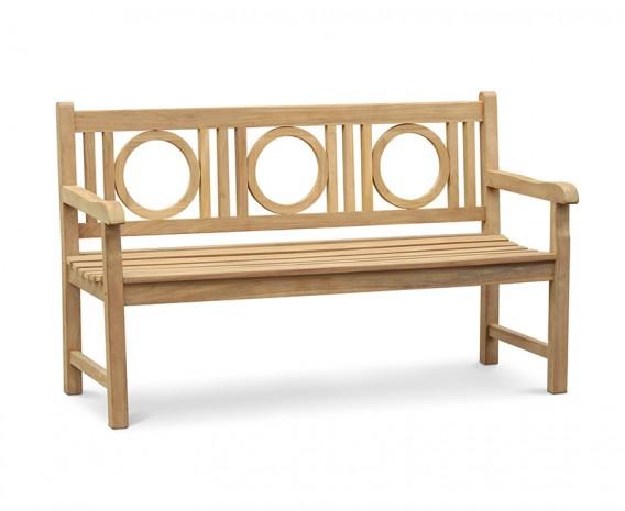Albemarle Decorative Outdoor Bench - 1.5m