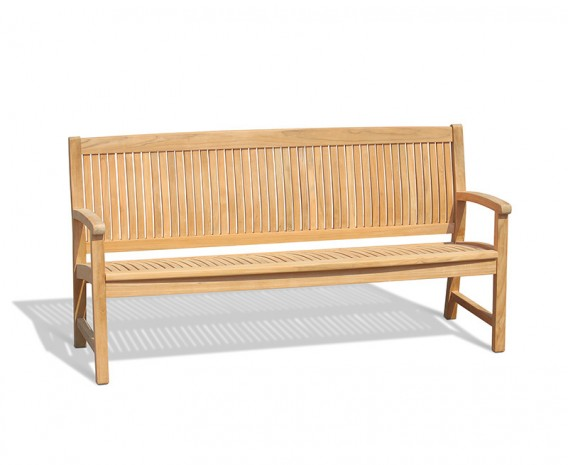 Bali 4 Seater Teak Outdoor Bench – 1.8m
