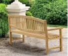 Ascot Teak 4 Seater Garden Bench