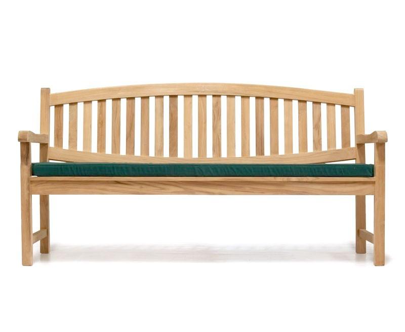Ascot Teak 4 Seater Garden Benches | Modern Outdoor Bench