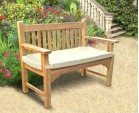Taverners Teak 2 Seater Garden Bench