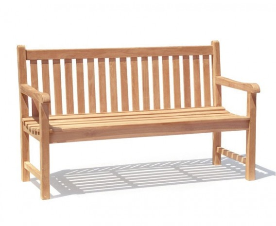 Windsor Teak 5ft Garden Bench