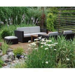 Riviera Poly Rattan Outdoor Sofa Set
