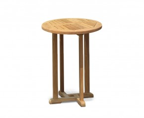 Canfield Teak Outdoor Bar Table - 70cm - Bar Tables