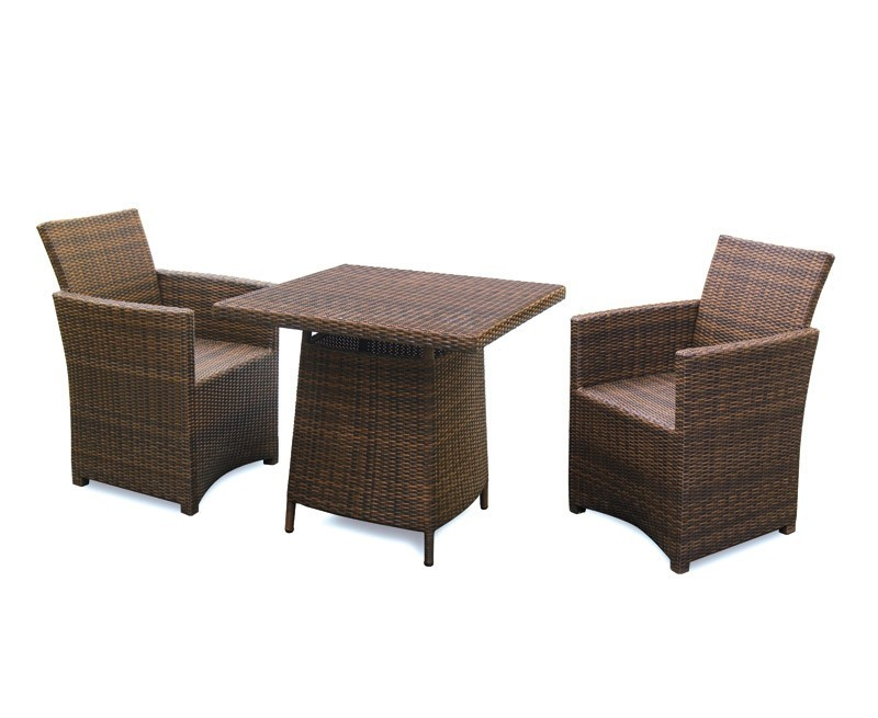 Eclipse Rattan 2 Seat Dining Set All Weather
