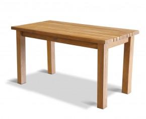 Chichester Teak Rectangular Outdoor Dining Table - 1.4m