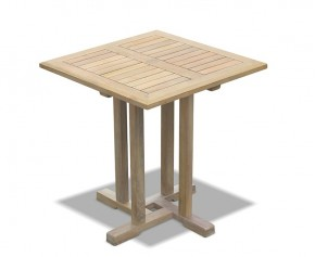 Canfield Teak Square Outdoor Table - 70cm