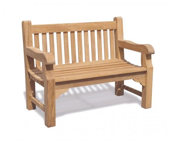 Balmoral 4ft Teak Park Bench