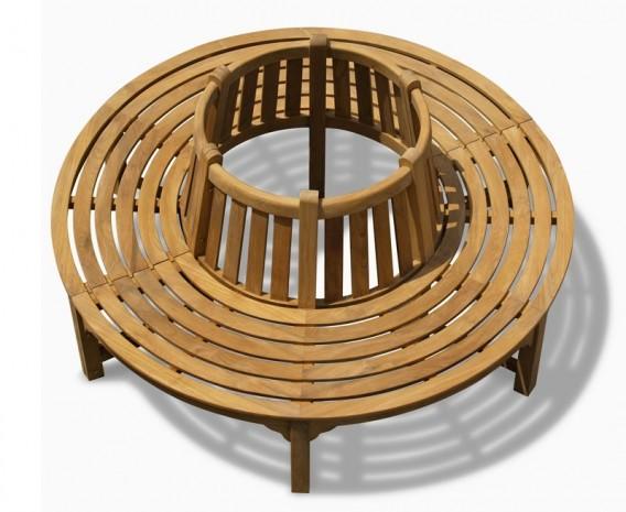 Teak Circular Tree Seat - 180cm