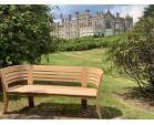 Kensington 3 Seater Teak Garden Bench
