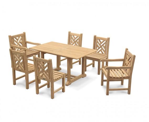 Hilgrove 6 Seater Garden Dining set