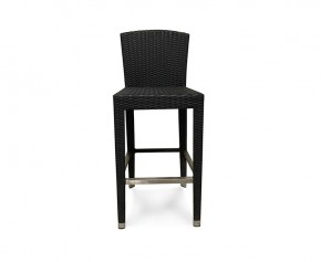 Woven Bar Chair, Black - NEW: End of line