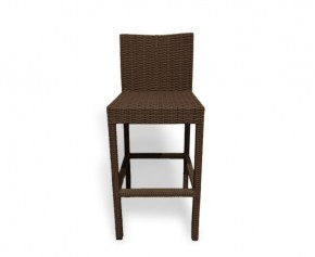 Woven Bar Chair, Java Brown - NEW: End of line