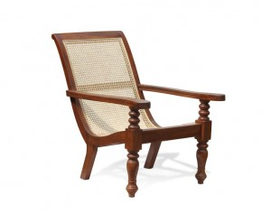 Capri Plantation Chair with Swing Out Arms - Teak Wood - Indoor Chairs