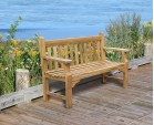 Taverners Teak 2 Seater Garden Bench