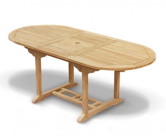 Bali Bijou Extending Garden Dining Table 150cm - 200cm