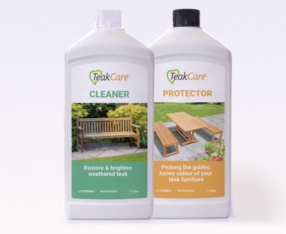 Teak Cleaner and Teak Protector Pack