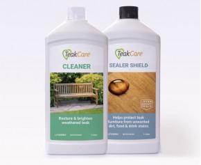 Teak Cleaner and Sealer Shield Kit