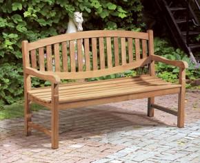 Ascot Teak 3 Seater Garden Bench - Ready Assembled Benches