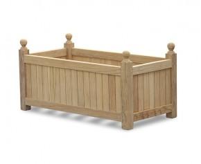 Bespoke Wooden Garden Planter - 90 x 45cm