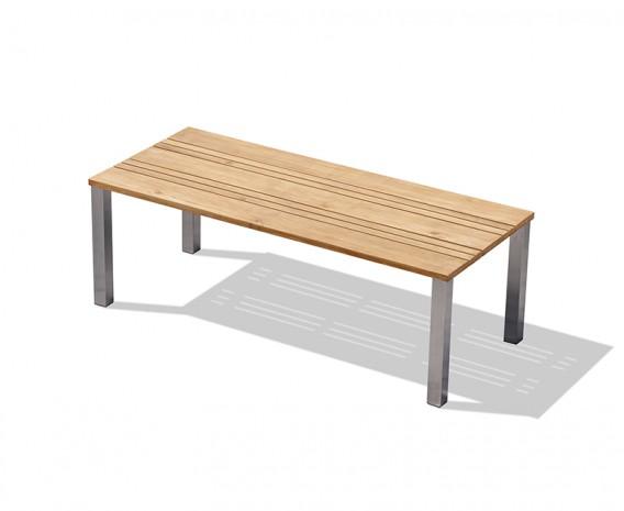 Marina 220cm Teak and Metal Outdoor Table
