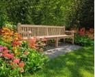 Balmoral Park Bench - Large Teak Bench 3m