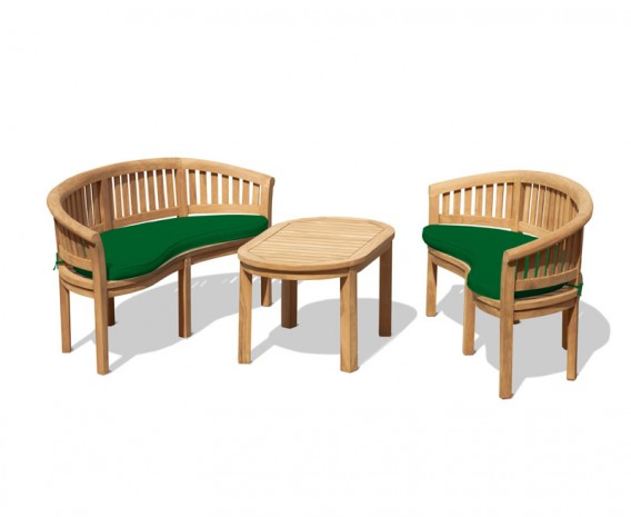 Wimbledon benches with Coffee Table