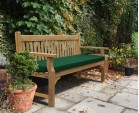 Taverners Teak 4 Seater Garden Bench