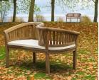 Teak Garden Love Seat - Love Bench