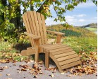 Bear Teak Adirondack Chair