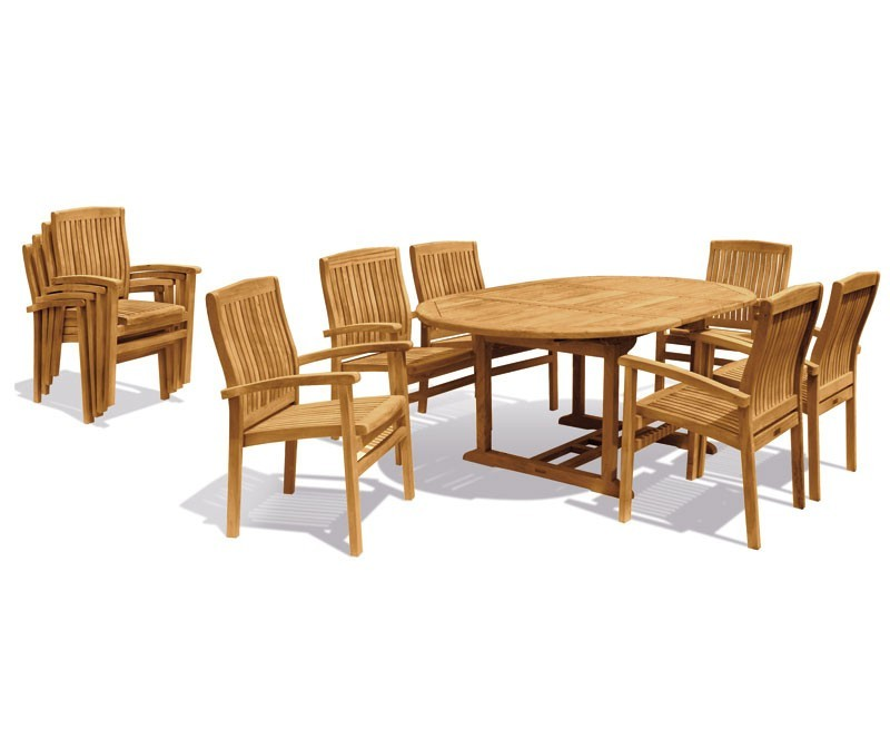 Home Dining Sets Brompton Extendable Dining Table Set With Bali