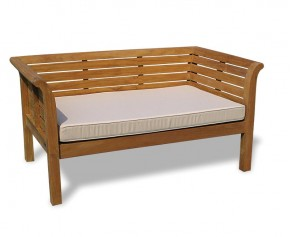 5ft Teak Garden Outdoor Daybed - 5ft Garden Benches